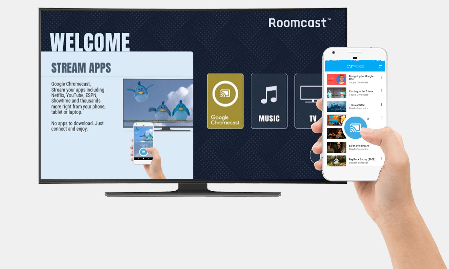 Roomcast™ - Google Chromecast for Hotels & Hospitality